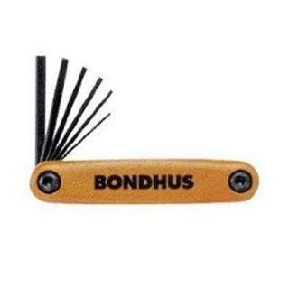 INBUS - HEX SET SMALL INCHES BONDHUS